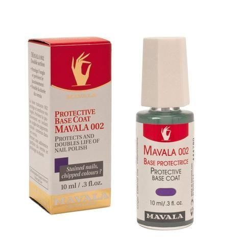 Lacquer Nail Polish - Mavala Protective Base Coat  Nail Polish Treatment 002 0.3oz