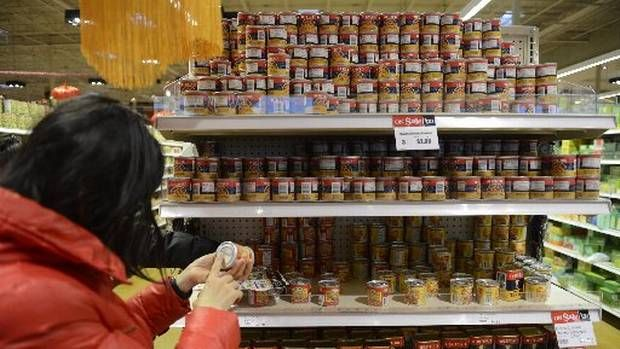 Canadian inflation at highest in almost 2 1/2 years as food costs spike