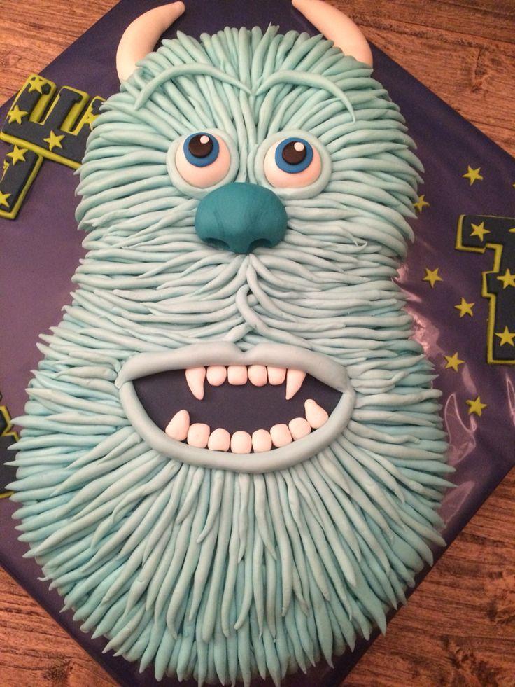 Monster University taart Sully 6-16 door Franciska Bark