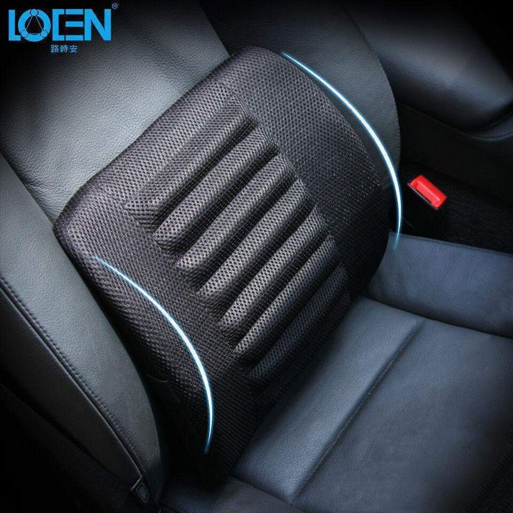 Car Seat Lumbar Cushion Pillows Soft Cotton 1PCS Breathable Mesh Cloth Back Support for Car Seat and Office Chair Lumbar Support