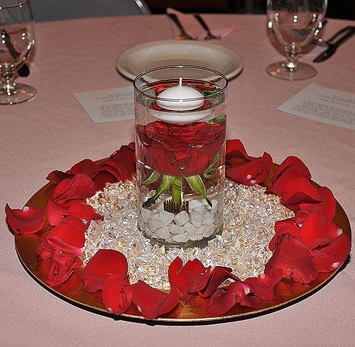 mirror centerpieces decorations | wedding decorations source briderose org