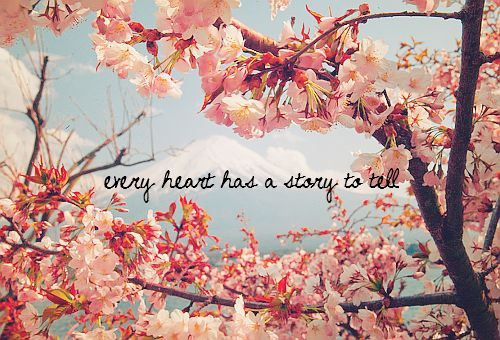 it does: Words Of Wisdom, Cherries Blossoms, Heart, Random Quotes, Inspiration Pictures, So True, Blossoms Trees, Love Quotes, Flower