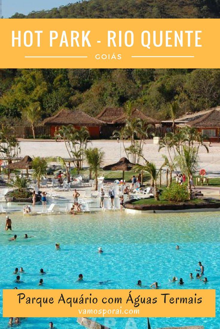 Que tal conhecer um dos melhores parques aquáticos do Brasil? O Hot Park está localizado no Rio Quente Resorts, próximo a cidade de Caldas Novas.