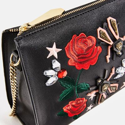EMBROIDERED CLUTCH-View all-BAGS-WOMAN | ZARA United Kingdom
