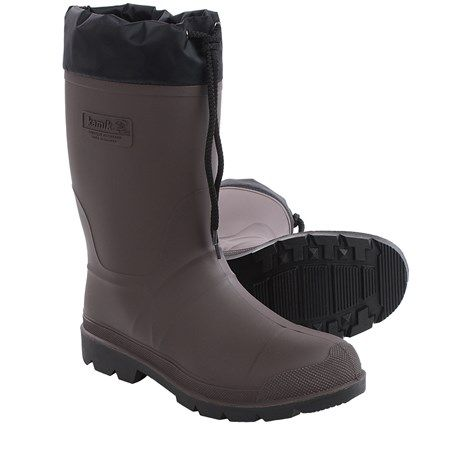 Kamik Grippers 2 Rubber Boots (For Men) - Save 37%