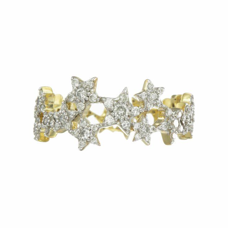Zoe & Morgan | Milky Way Diamond Ring by Zoe and Morgan