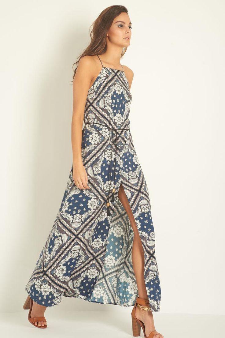 Three of Something Rock the Casbah Mosaic Maxi Dress
