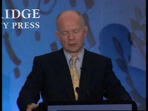 William Hague on William Pitt - YouTube