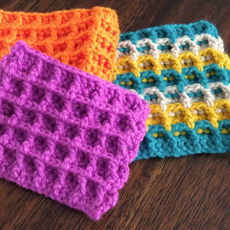 Les 122 meilleures images du tableau 32 crochet sur pinterest tutoriel artisanat et banquettes - Changer de couleur tricot ...