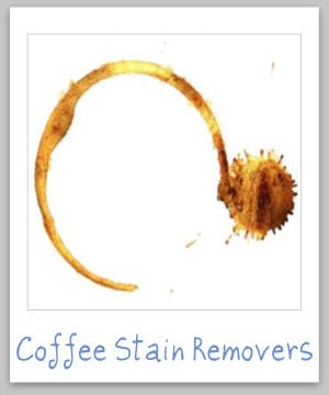 Recommended coffee stain remover products upholstery for How to get a coffee stain out of a shirt