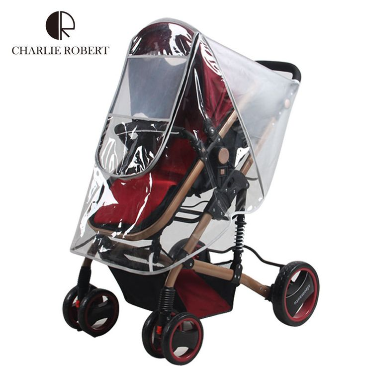 3 Styles Baby Stroller Cover High Quality Rain Cover Dust Wind Shield Pushchairs Buggys Infant Stroller Accessories Cover HK1167