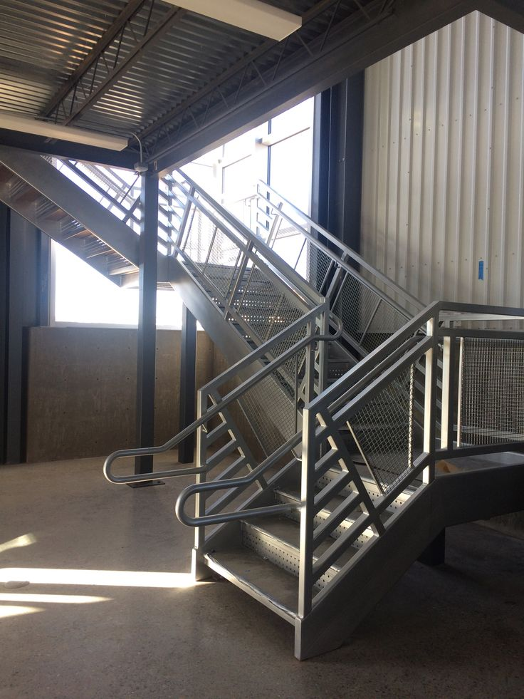 At Pascetti Steel We Specialize In Custom And Prefabricated, Ready To  Assemble Stair Units.