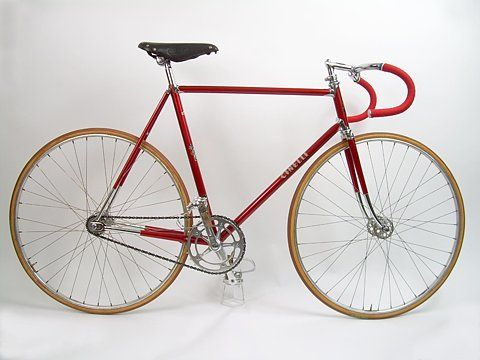 Cinelli, red fixed