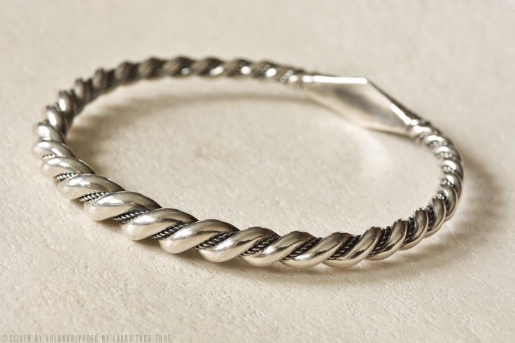 A personal favorite from my Etsy shop https://www.etsy.com/listing/277554718/viking-bracelet-from-gotland