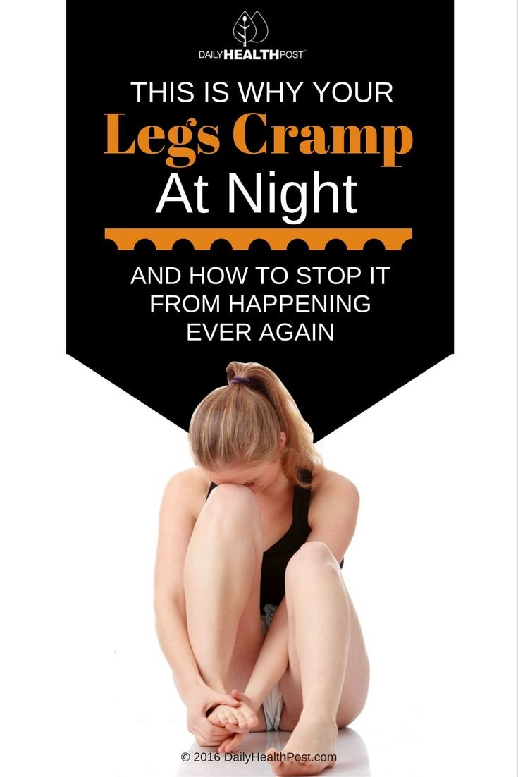 Nocturnal leg cramps are not only�painful, but they also prevent you from having a good night_s sleep, which is important to your health.