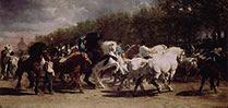 Feria de caballos. Rosa Bonheur