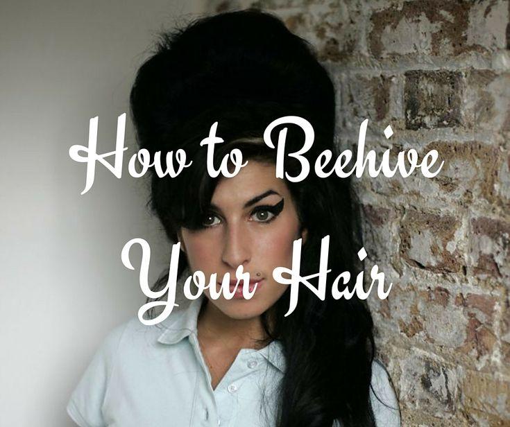 beehive hair tutorial video!