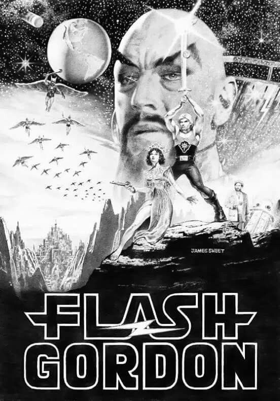 """Flash Gordon was so cheesy even I saw it that way as a kid. But I loved the comic bc my dad got me a book of it and I wanted to enjoy the ride. Remeb thinking, """"he's a NY Jet? Really? They're terrible."""" Which they were at that time."""