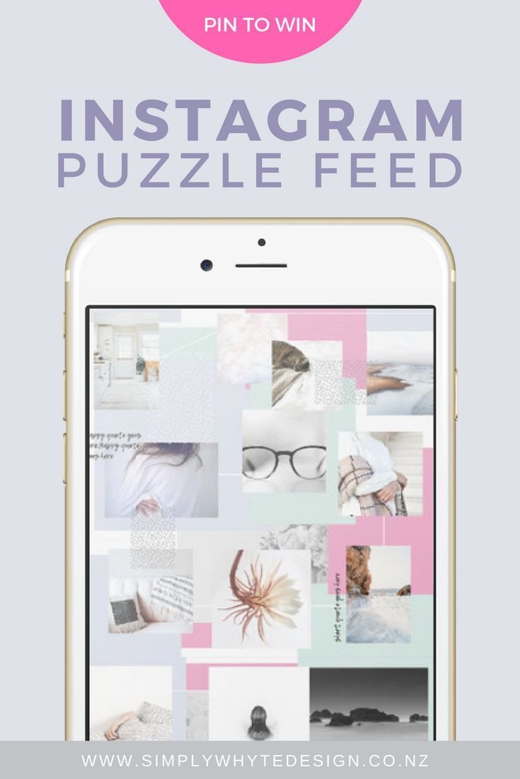 How To Create An Instagram Puzzle Feed Without Photoshop Free