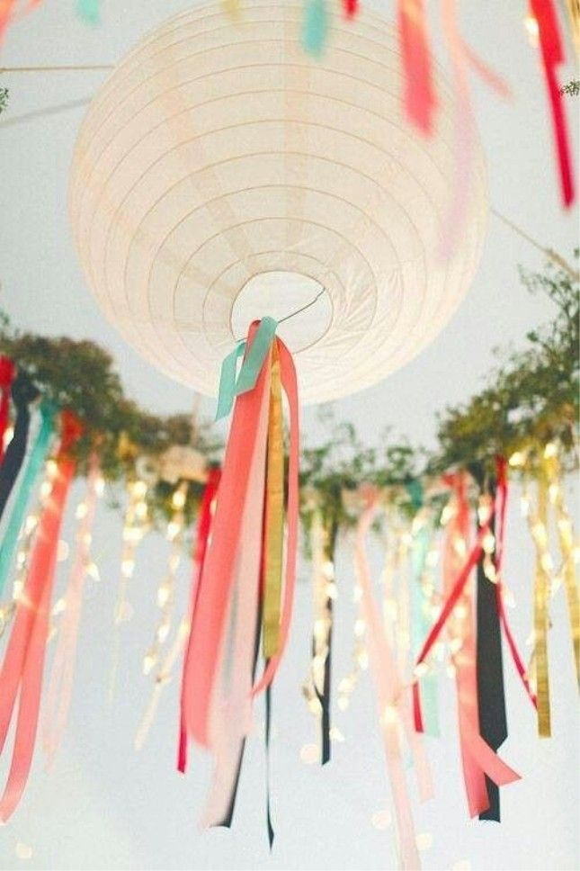Solvinden Paper Lanterns These IKEA Wedding Hacks Will Save You Some Serious Dough via Brit + Co