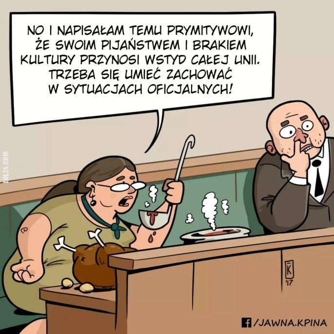 Trzeba się umieć zachować #KrystynaPawłowicz #umieć #zachować