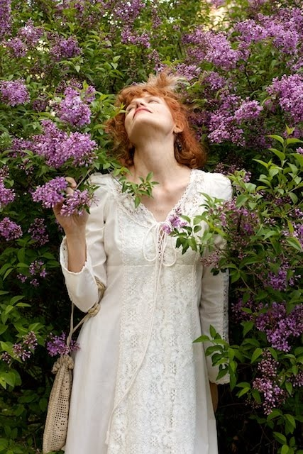 The Renaissance Bride in the arms of the Lilac~ Bridegroom