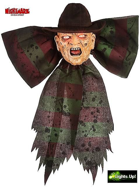 halloween party ideas m37759mo vengeful freddy krueger light up bow decoration vengeful freddy krueger light - Freddy Krueger Halloween Decorations