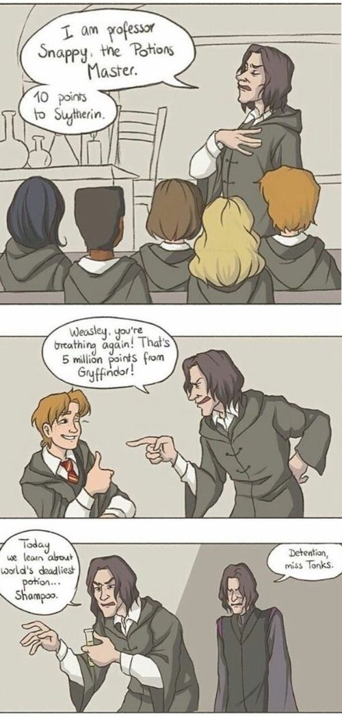 Image about funny in Harry Potter Art by Sydney1479
