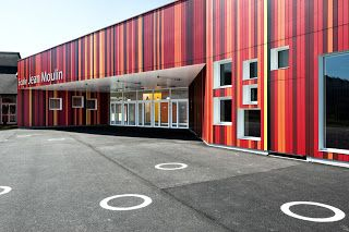 Jean Moulin School - Archkids. Arquitectura para niños. Architecture for kids. Architecture for children.