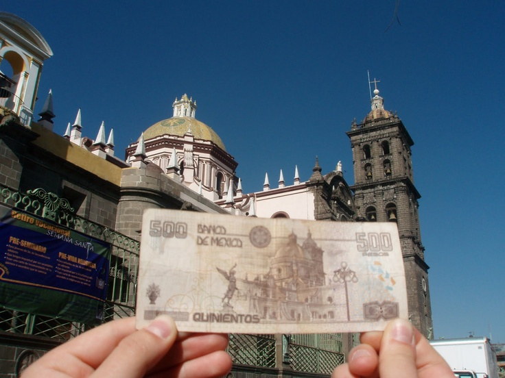 Billete de 500 pesos Mexico Mexiko Mexique Messico 멕시코 墨西哥 מקסיקו Мексика メキシコ economy