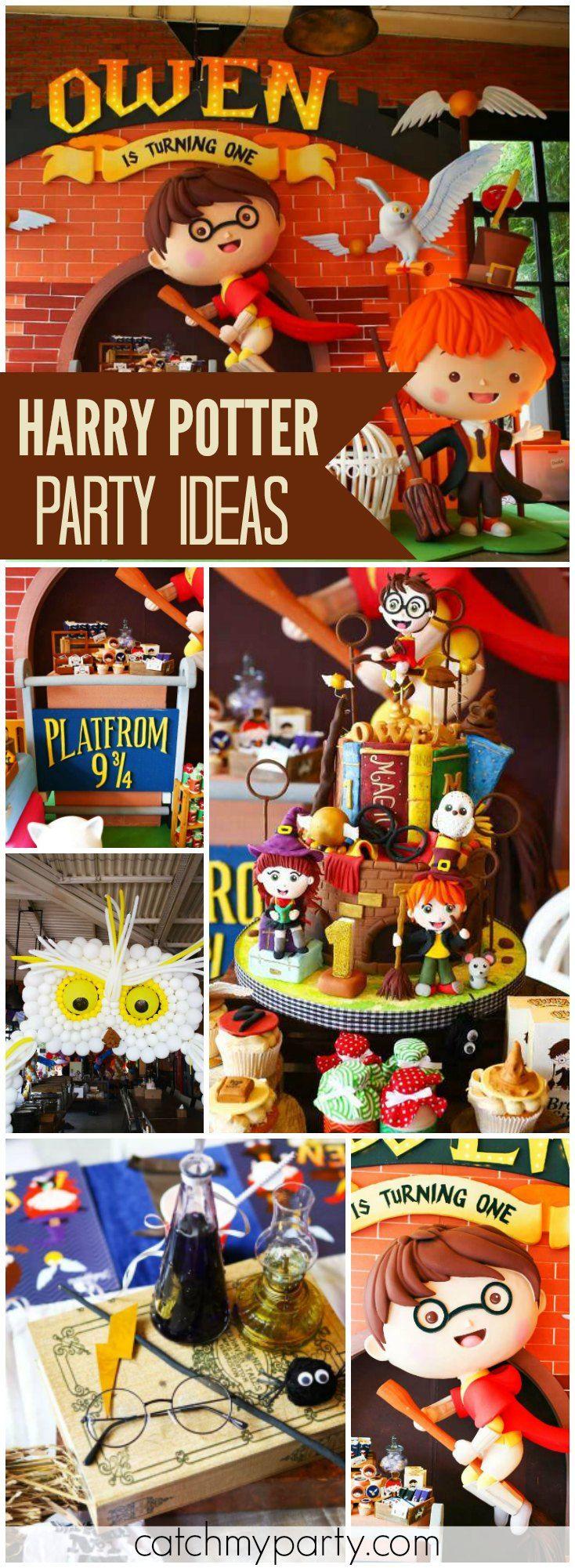 Harry Potter Birthday Wingardium Leviosa