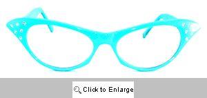 Katrina Cat Eye Glasses - 190 blue