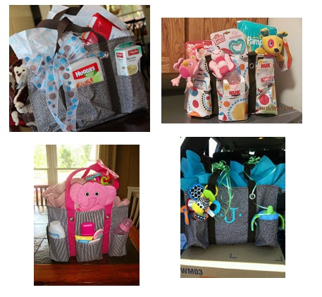 Thirty One (31) Organizing Utility Tote...so versatile & fun! Perfect Baby Bag, Activity Bag, Sporting Event Bag, Family Outing Bag, Gift Bag, Wine Basket Bag, Scrapbooking, the possibilities are almost endless! Only $30 too!
