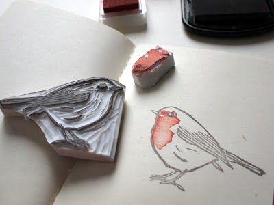 Sieben Morgen: kleines rotkehlchen // little red robin