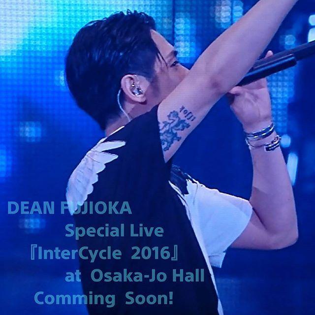 @tfjok #deanfujioka #ディーンフジオカ #藤岡靛 #intercycle2016 #彼の全てが大好きで愛おしい
