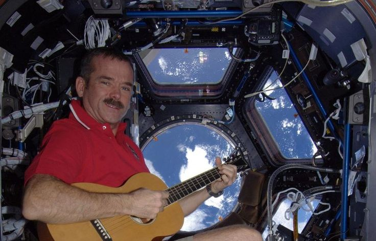 Chris Hadfield aboard The International Space Station