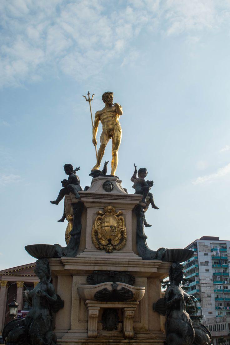 Merih Özdalyan. Poseidon Anıtı. Batum - GÜRCİSTAN