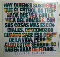 El fútbol es tan simple que se vuelve complicado.