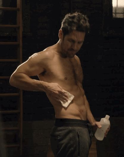Paul Rudd Reveals 7 Secrets About 'Ant-Man' and look. at. those. abs.