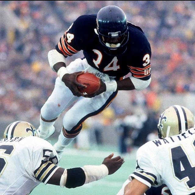 Walter Payton best running back ever