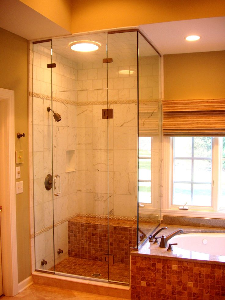 Bathroom Showers Shower Doors Small Spaces Made Of Glass For