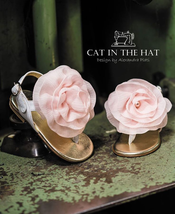 girl's shoes, #Cat in the hat, #vintage, #βαπτιστικό παπούτσι,#