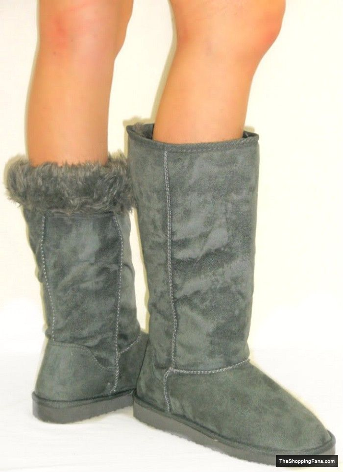 hot grey UGG boots  The Shopping Fans