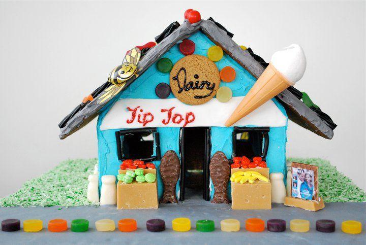 My Kiwiana Gingerbread house for xmas 2012!