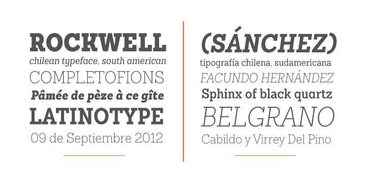 Sanchez Condensed - Webfont & Desktop font « MyFonts - Free Font