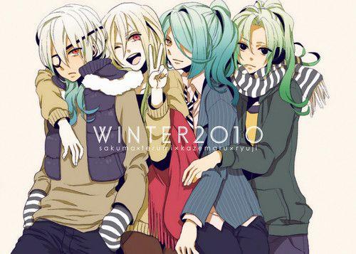 Inazuma Eleven Boys lindos Ukes X3