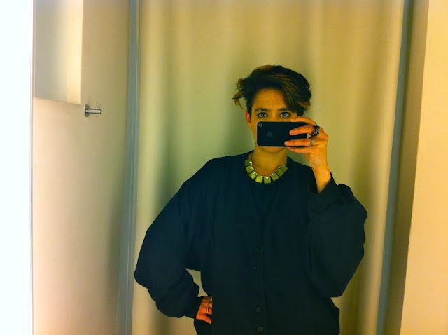 Becoming RAJE: What We Wore: it is the 90's, Right?....and she's wearing black again. A x