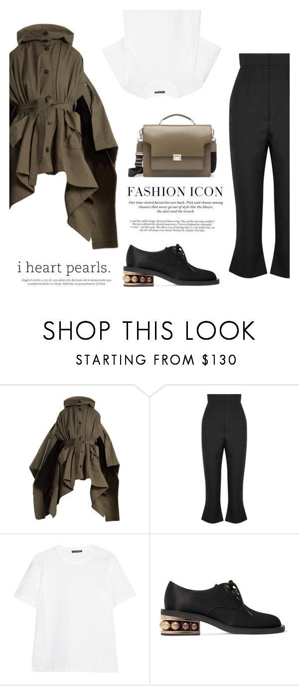"""""""Outfit #68: Nicholas Kirkwood x Marni x Jacquemus"""" by mariluz-garcia ❤ liked on Polyvore featuring palmer//harding, Jacquemus, Acne Studios, Nicholas Kirkwood, Marni, H&M and Victoria Beckham"""