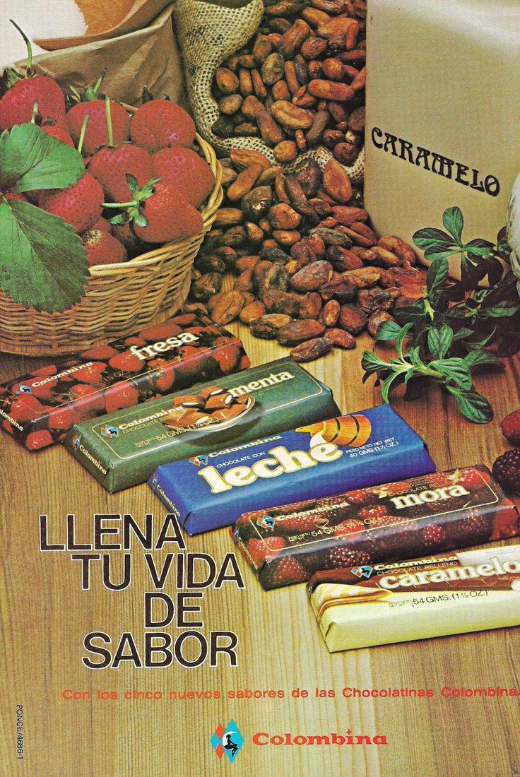 REVISTA GEOMUNDO: CHOCOLATINAS COLOMBINA.