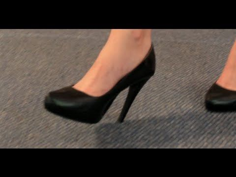How To Be A Girl- How to Walk in Heels - YouTube